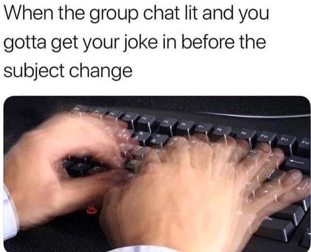 Photo of 20 Hilarious Group Chat Memes You'll Find Too Familiar | SayingImages.com Memes …