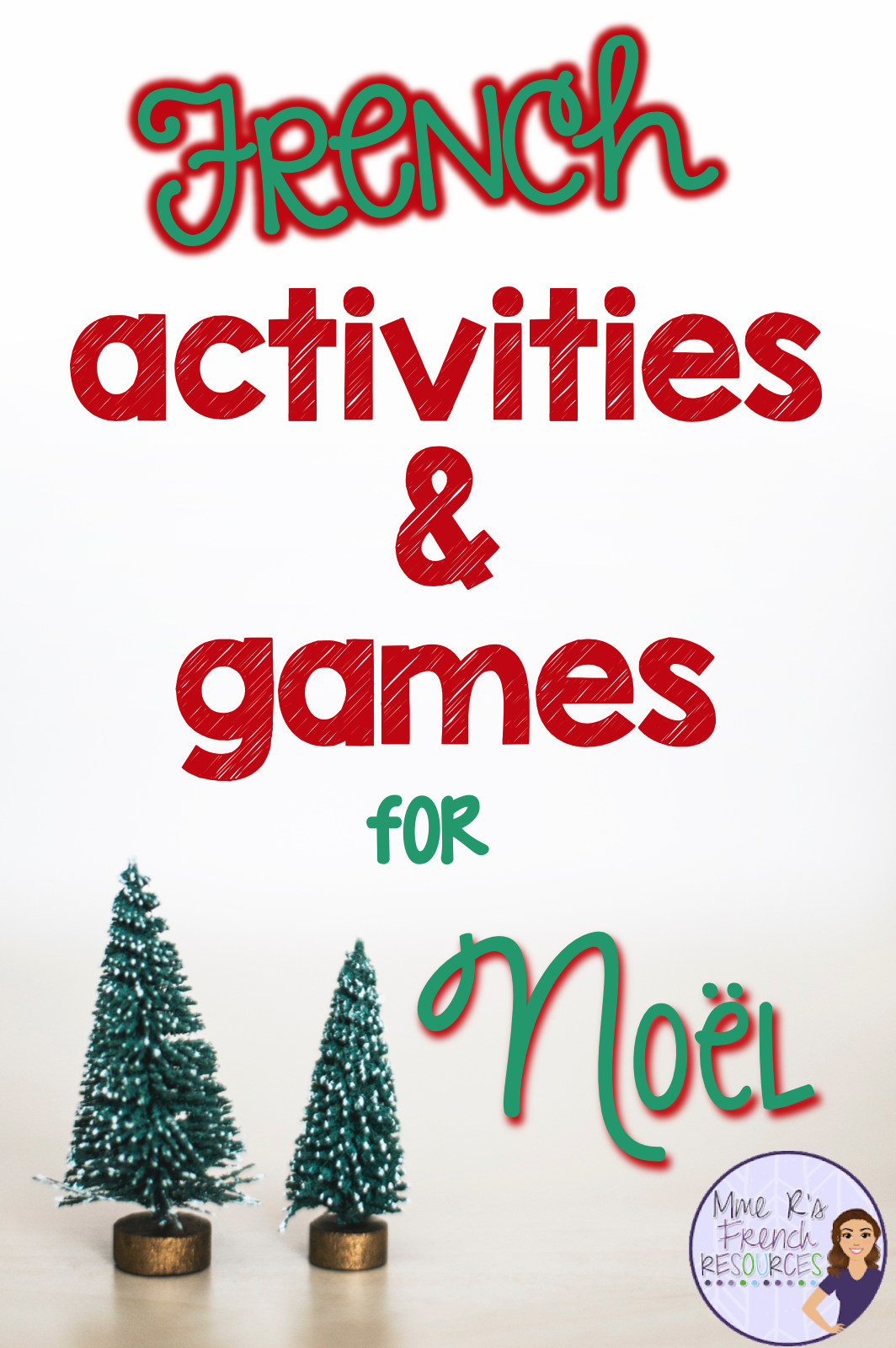 French Activities And Games For Noel