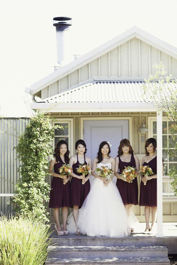 Jenny yoo keira dress northern california fall wedding for Wedding dresses northern california