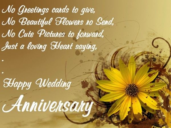 Wedding Anniversary Wishes For Friends pictures photos images – Quotes for Wedding Anniversary Cards