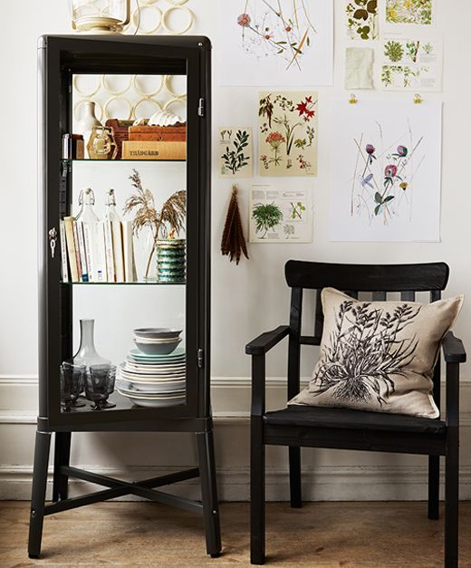 fabrik r vitrine by ikea this beauty makes everything you. Black Bedroom Furniture Sets. Home Design Ideas