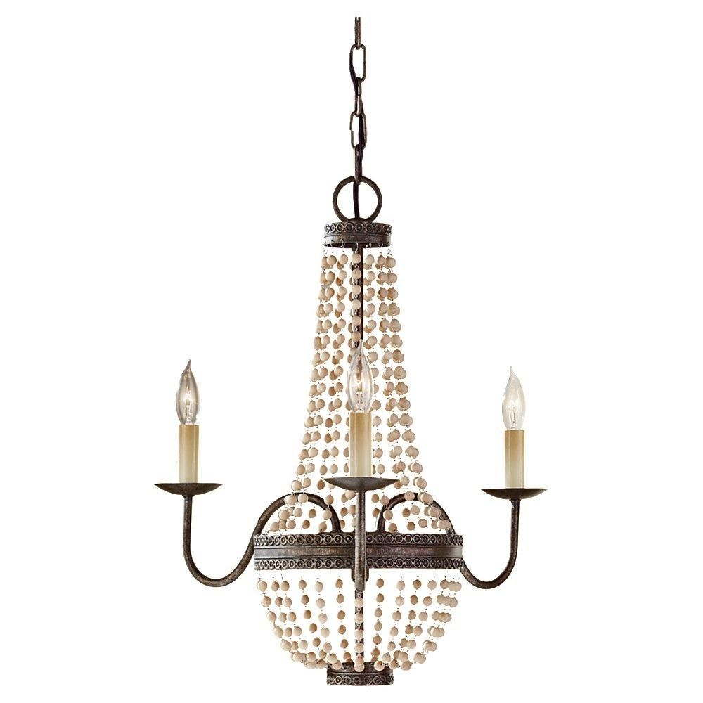 This small traditional chandelier is brought to you by feiss great