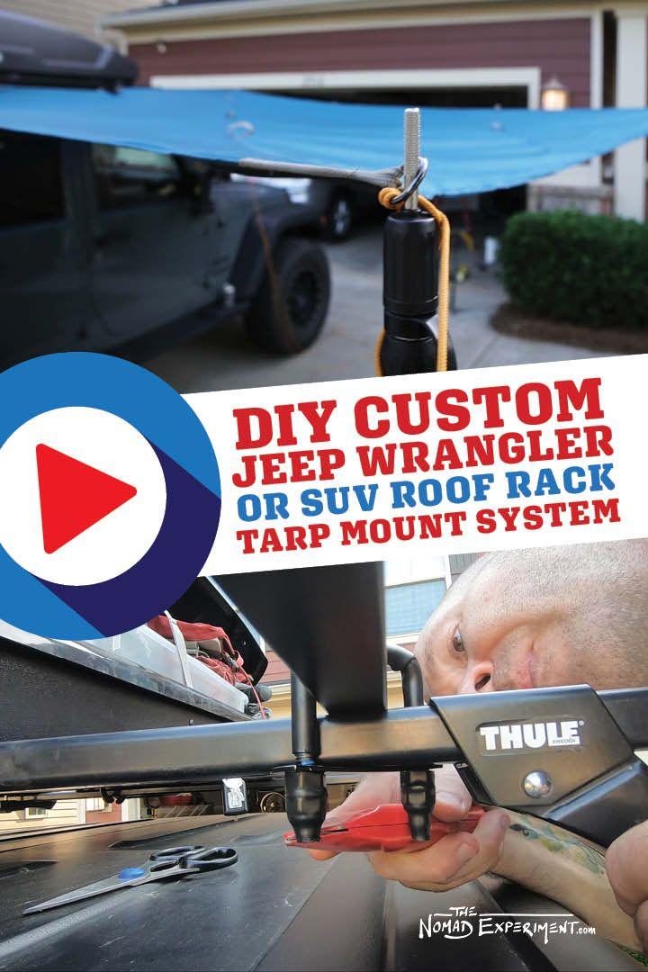 Photo of How To Wrangler Roof Rack Tarp-Mount…