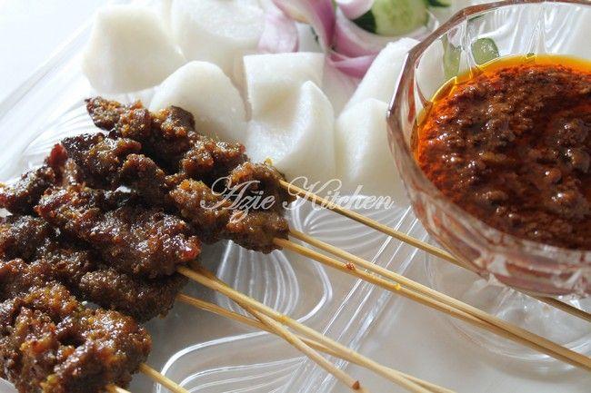 Azie Kitchen Satay Dan Kuah Kacang Mudah Dan Sedap Resepi