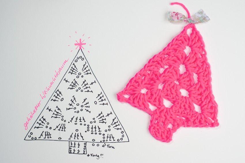 Crochet Christmas Tree - Chart   religious   Pinterest   Pino ...