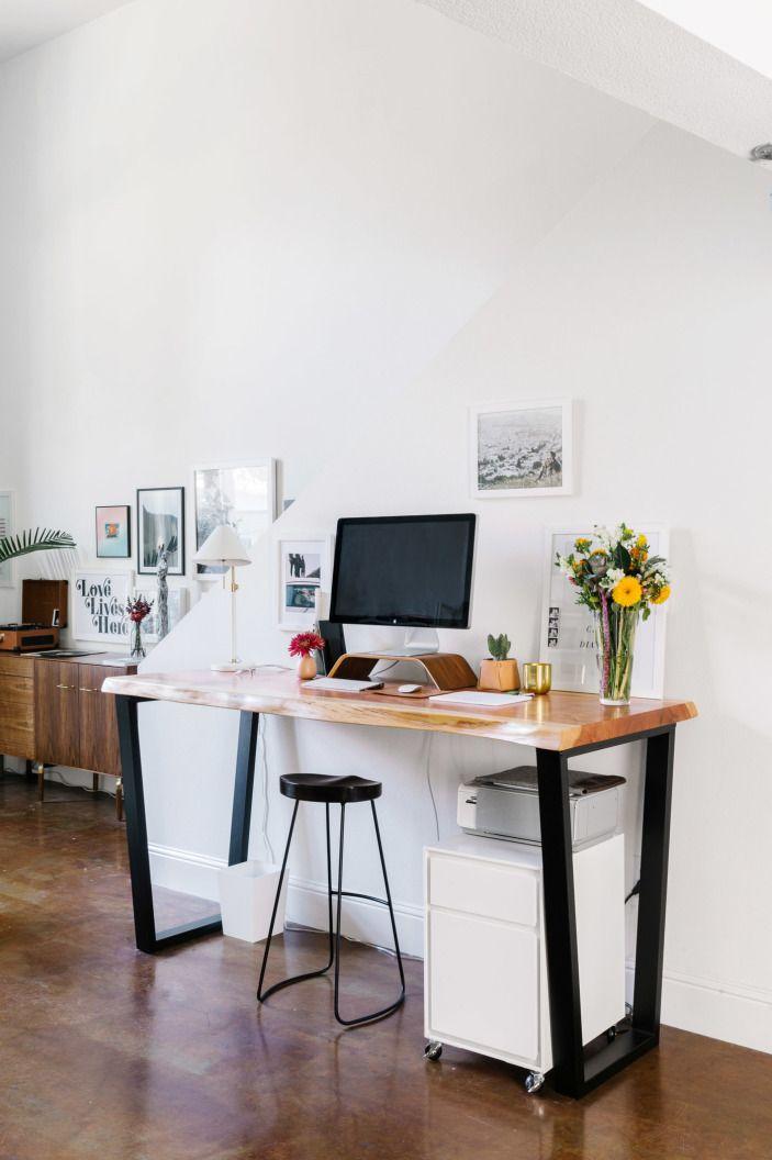Our Designer S Bright And Airy Sf Loft Homepolish Bureau Design Bureau A Domicile Organisation Du Travail A Domicile