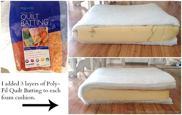 How To Fix A Saggy Sofa Cushions On Diy Furniture