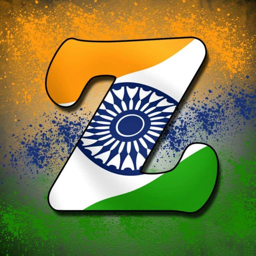 Alphabet Tiranga Image Lettering Whatsapp Dp Indian Flag Images