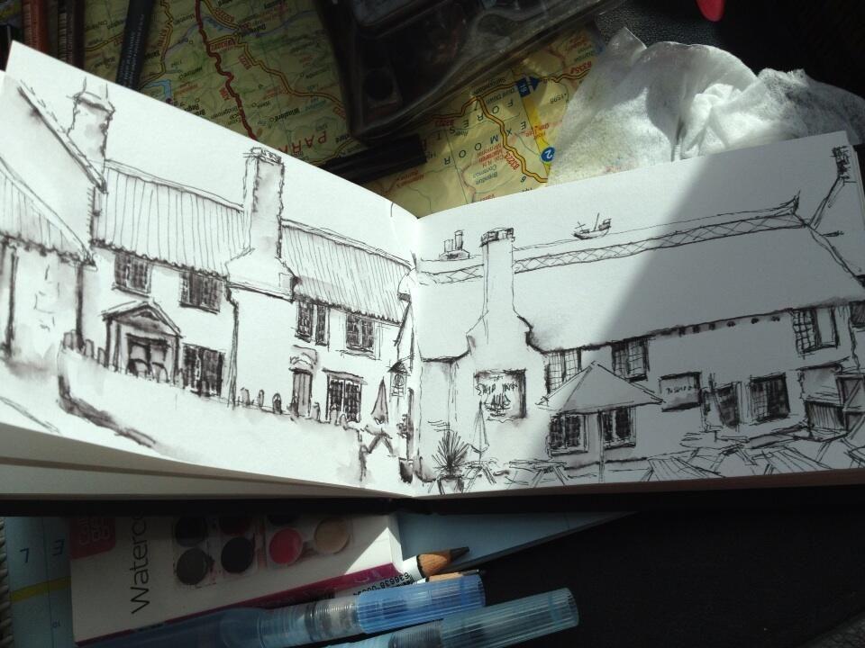 Twitter / PegasusArtShop: #buildapril sketch of beautiful ...