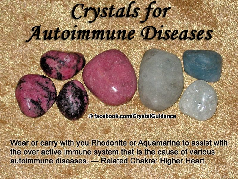 Crystal Guidance: Crystal Tips and Prescriptions - Autoimmune
