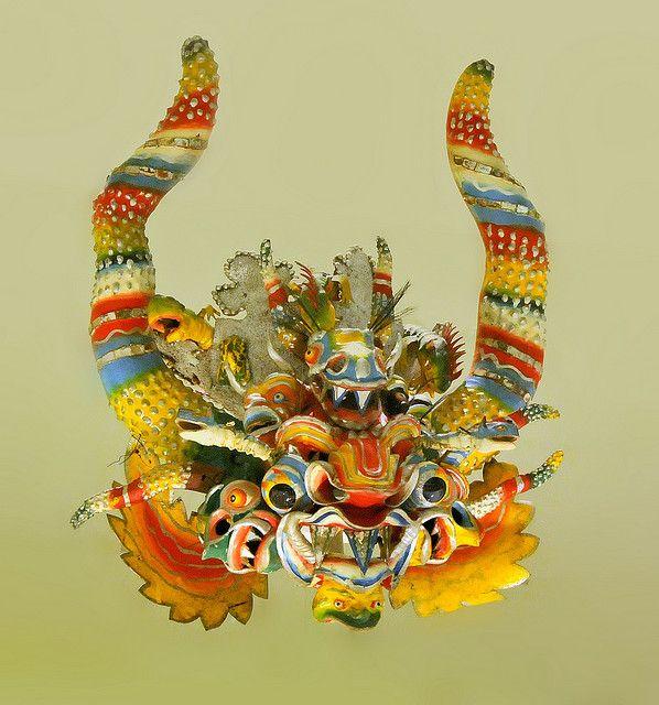 Bolivian Diablada Dance mask