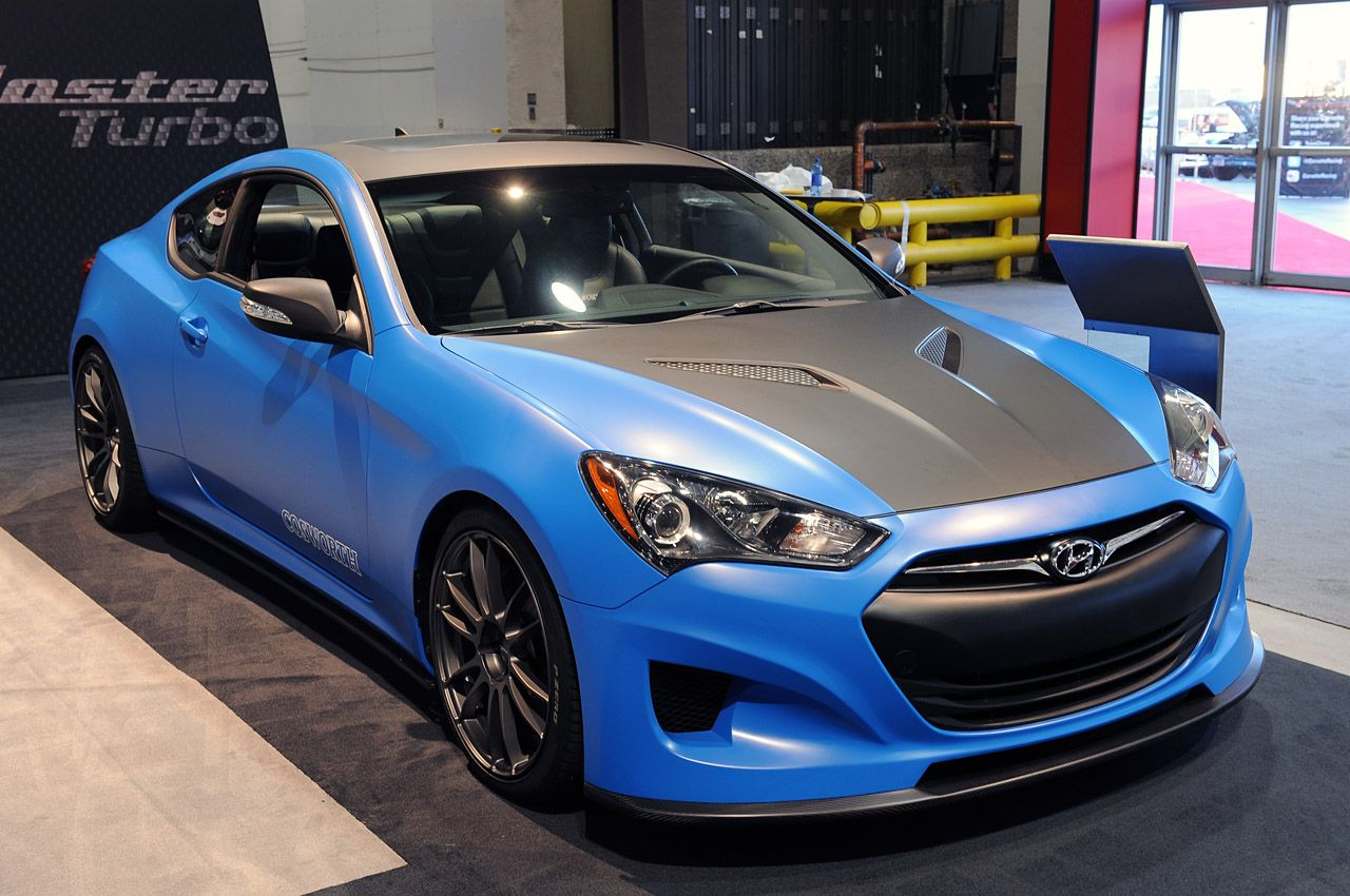 Hyundai genesis coupe cosworth