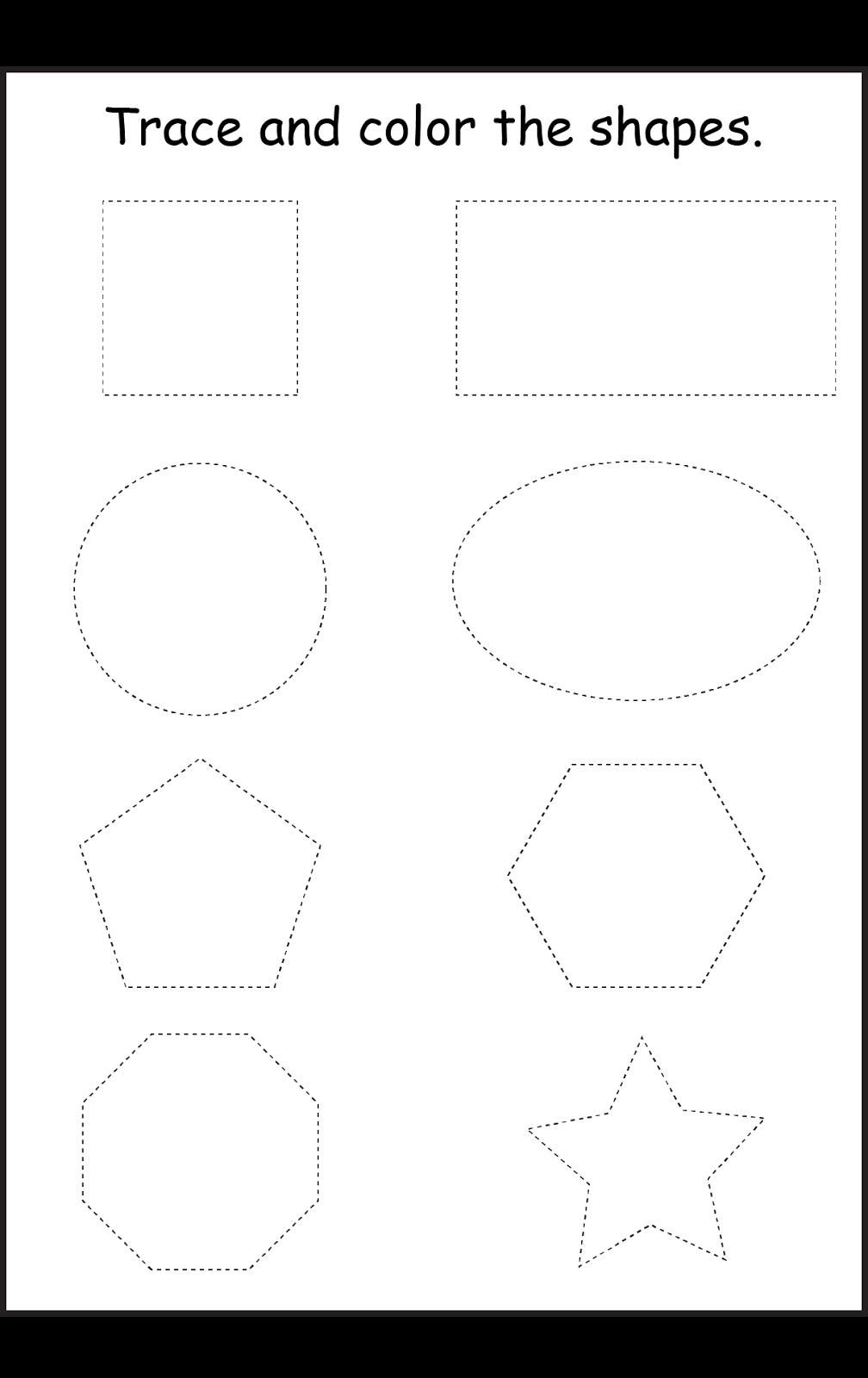 Shapes Worksheet Preschool Shape Worksheets For Preschool Shapes Preschool Preschool Worksheets [ 1600 x 1008 Pixel ]