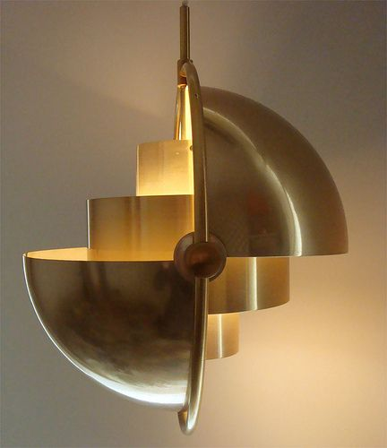 // Lyfa Lamp- so modern but simultaneously art deco. it would be SO COOL if the thing folded in on itself, or folded completely open, so you can get different light levels