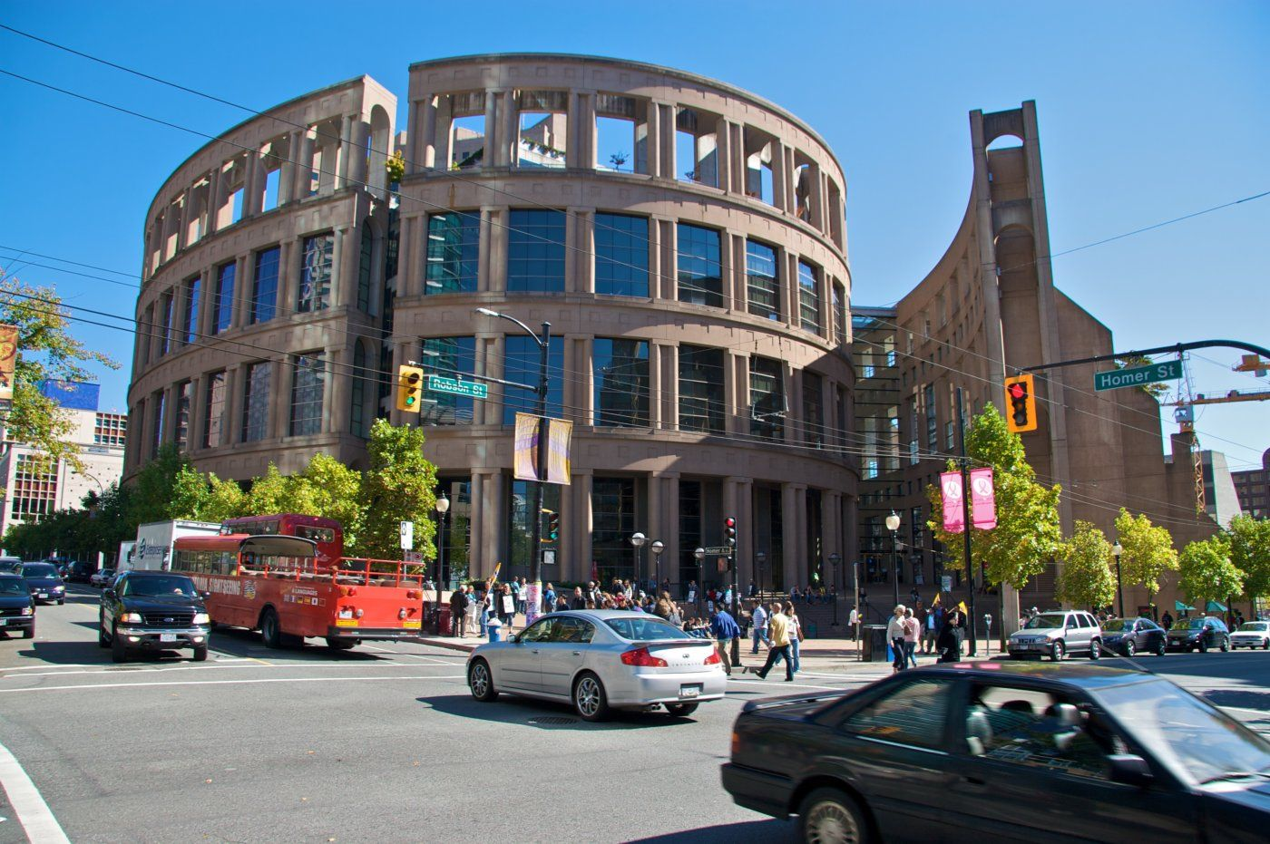Library in Downtown #Vancouver BC, Canada