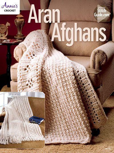 Aran Afghans - Crochet Pattern   Blankets beautifull   Pinterest ...