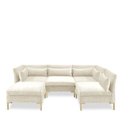 Sparrow & Wren Naomi Sectional | Bloomingdale\'s | Furniture | Pinterest