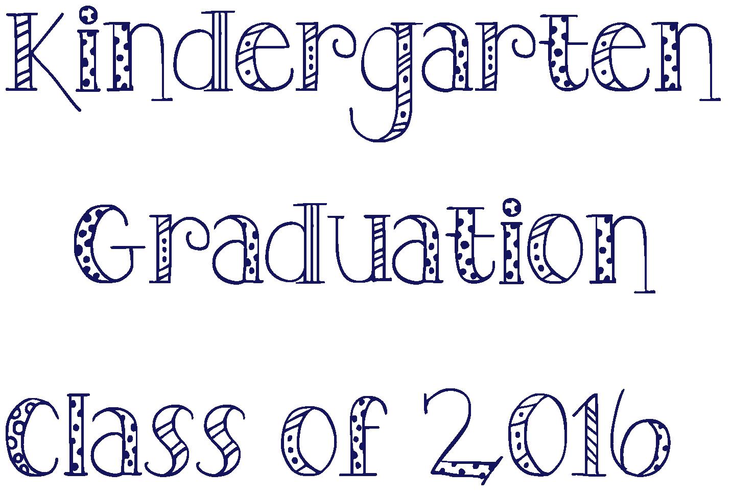 Fancy Fonts and Fancy Font Generator | kindergarten graduation