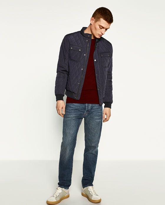 Image 1 of CLASSIC QUILTED JACKET from Zara | Sale board | Pinterest : classic quilted jacket - Adamdwight.com