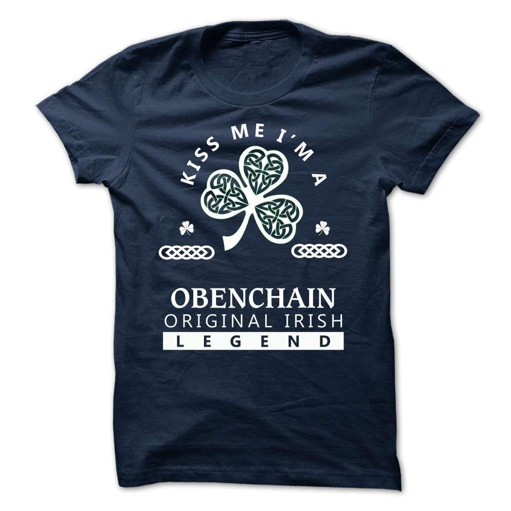 SunFrogShirts cool   OBENCHAIN -Kiss Me IM Team - Shirts of month