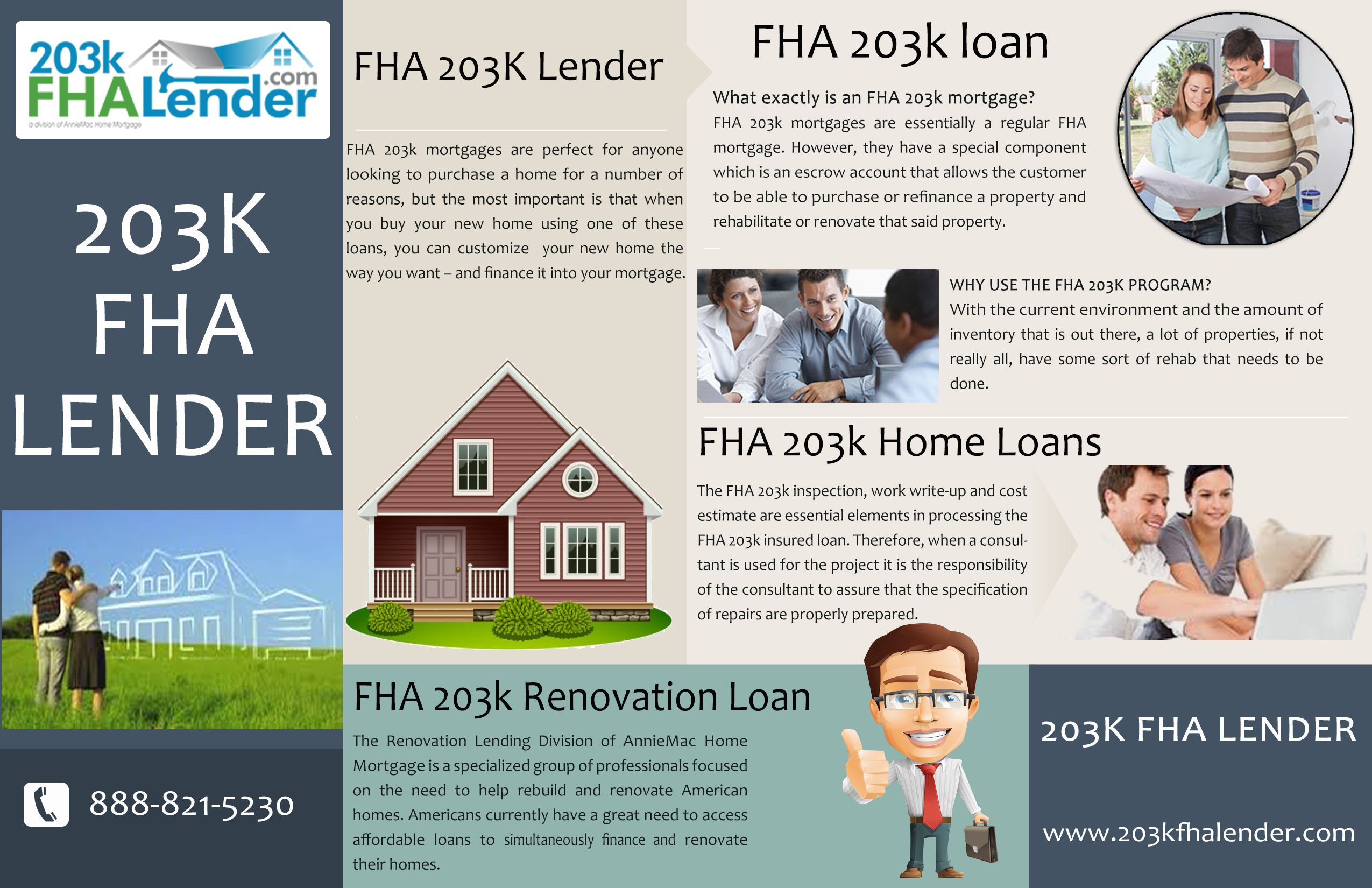 Construction Renovation Loan Calculator Pin By 203k Fha Lender On 203k Fha Lender Home Renovation