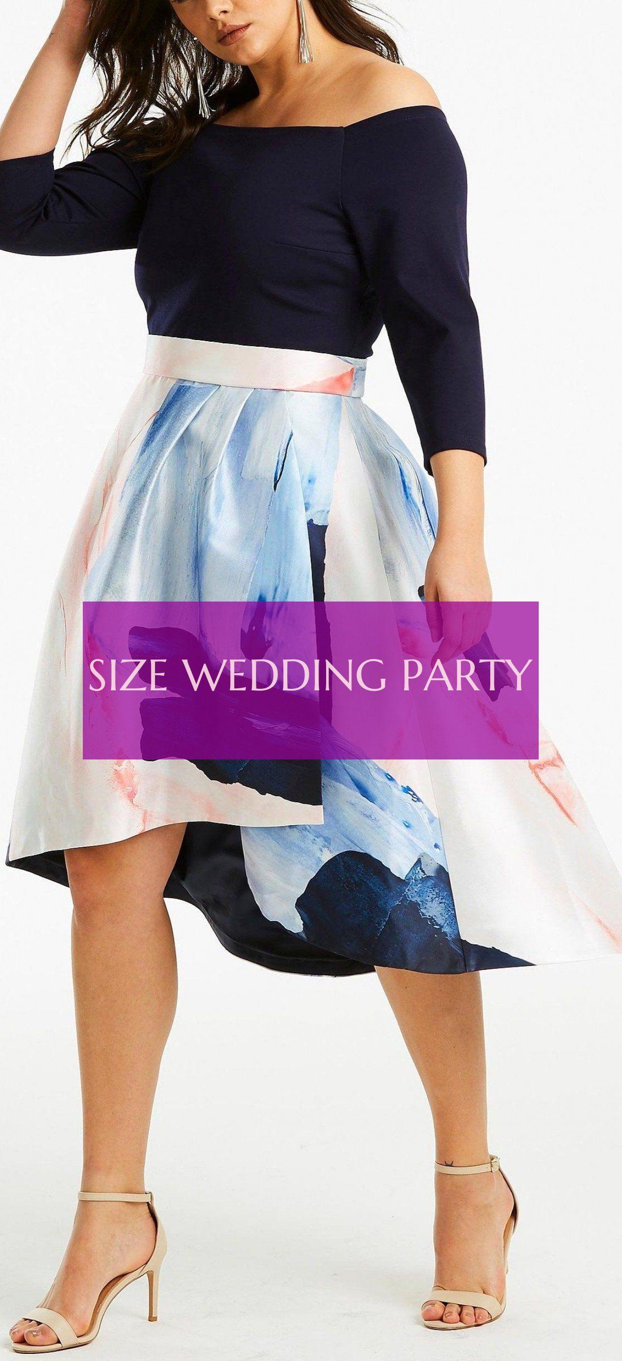 Fête De Mariage De Taille Size Wedding Party
