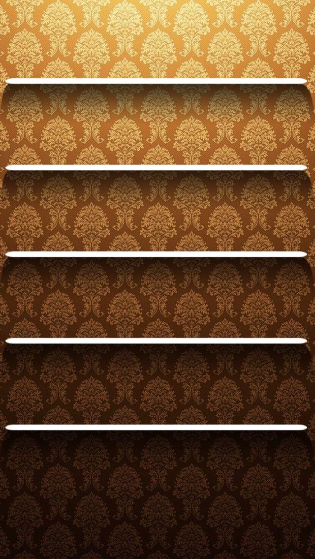 Обои iPhone wallpaper shelves Обои