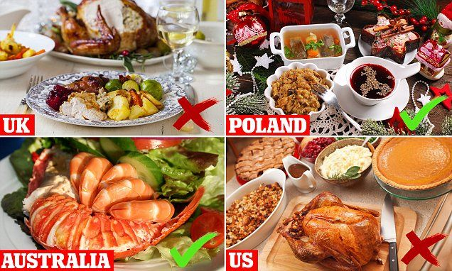 where to go in the world for the healthiest christmas dinner