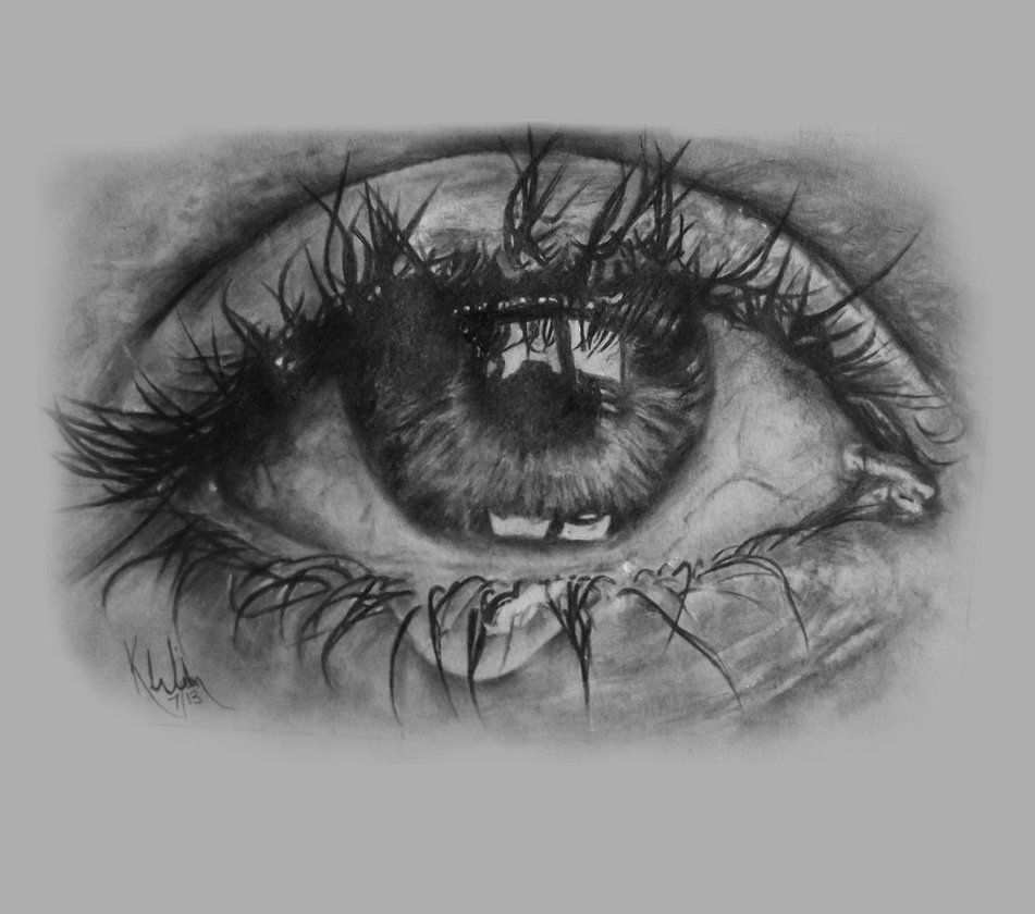 Crying eye by sith katie uksp crying eye drawing cry drawing crying