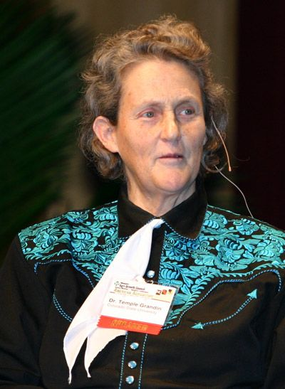 Temple Grandin, just came on board for Canine Soldiers, a ...