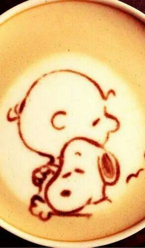 Loving Snoopy! Could you drink this cup of coffee