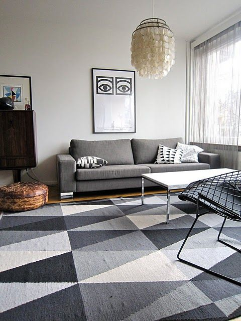 ikea stockholm rug fialena pillow cover grey sofa R U G S