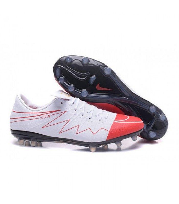wholesale dealer c2095 b7f15 Acheter Nouveau Nike Hypervenom Phinish FG Chaussure de Football Hommes  Wayne Rooney Blanc Rouge Noir pas