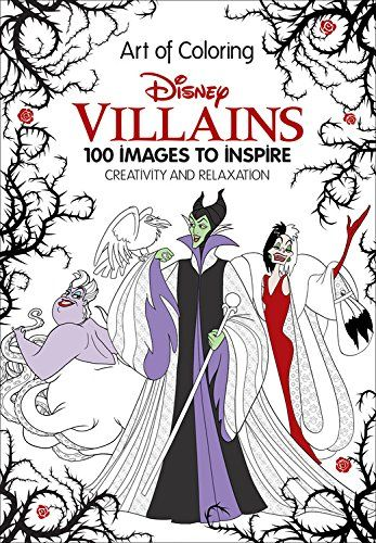 disney coloring books disney villains coloring books and