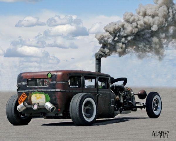 diesel rat rod | Diesel Rat Rod, el azote de los ecologistas