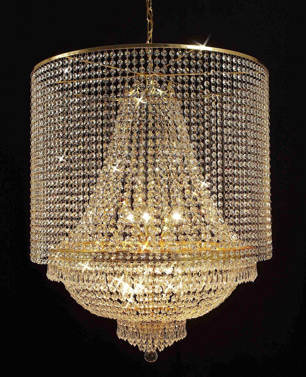 Empire Crystal Chandelier Chandeliers Empress Tm Lighting With Shade
