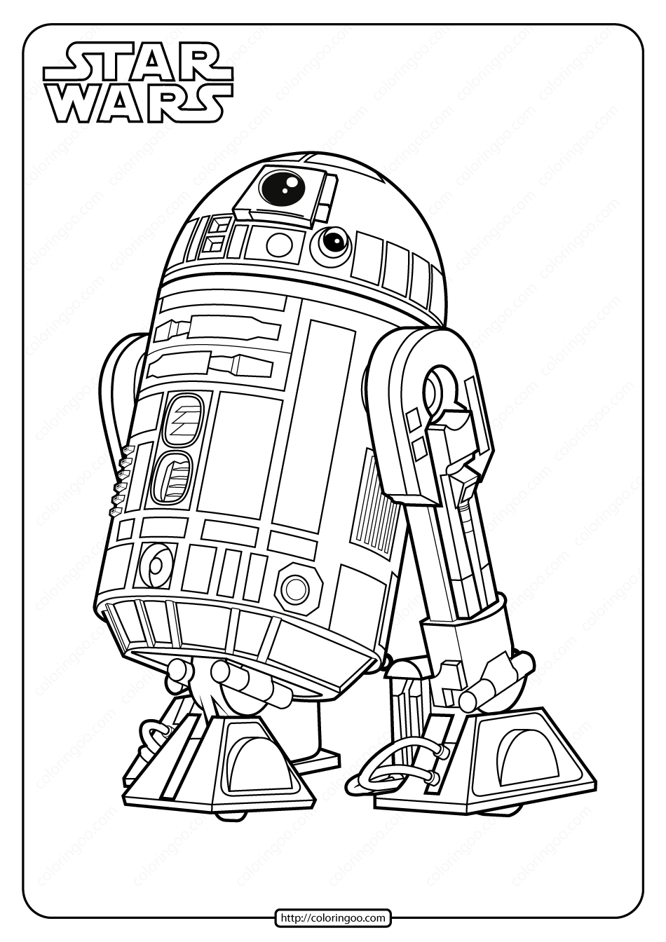 Star Wars R2 D2 Printable Coloring Pages Star Wars Coloring Book Star Wars Drawings Star Wars Painting
