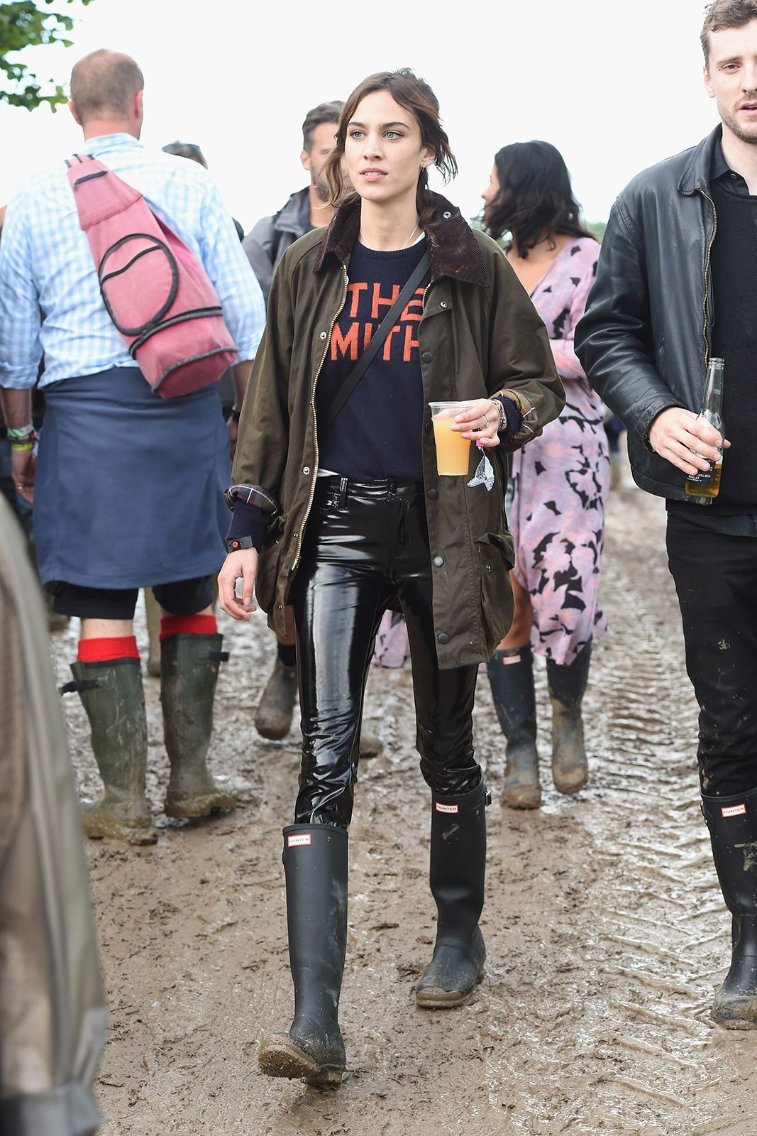 Glastonbury Street Style How To Look Good While Covered