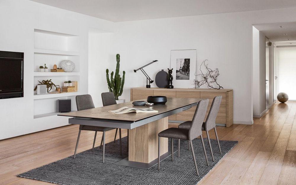 SINCRO Calligaris: il tavolo super allungabile. #arredamento ...
