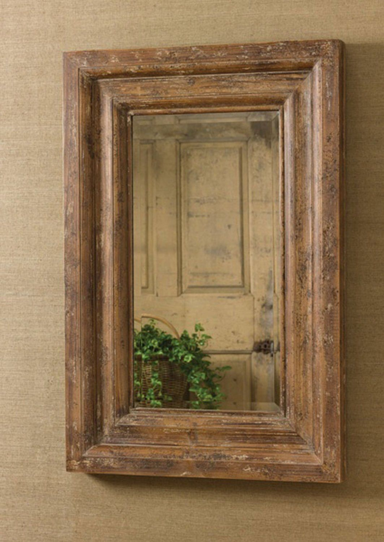 Amazon Com Shabby Wall Mirror Large Wood Mirrors Beveled