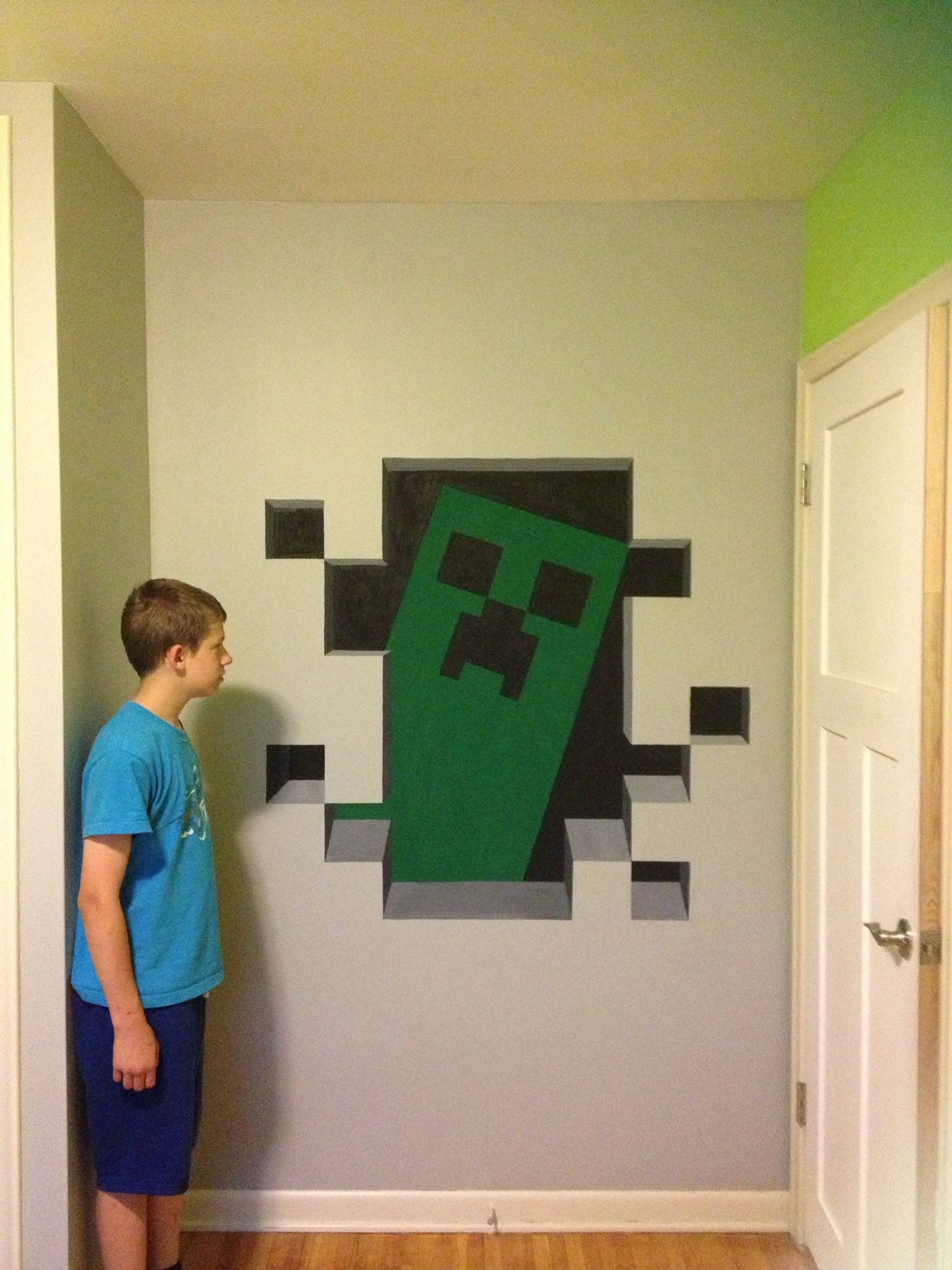 OH MY WORD, I NEED TO DO THIS right next to my door that I need to ...