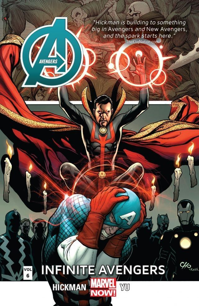 Avengers Vol 6 Infinite Avengers Comics By Comixology Avengers Man Thing Marvel Marvel
