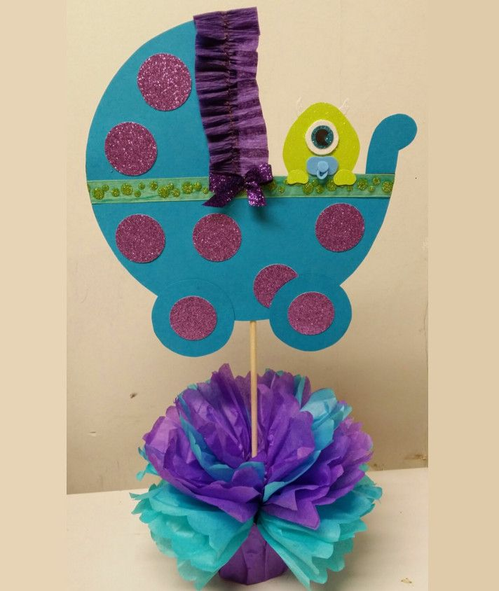 Monsters Inc Baby Shower Centerpieces U2026