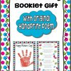 This beautiful keepsake will make a lovely gift for the Moms of the children you teach! The download includes:  **an original handprint poem **a ve...