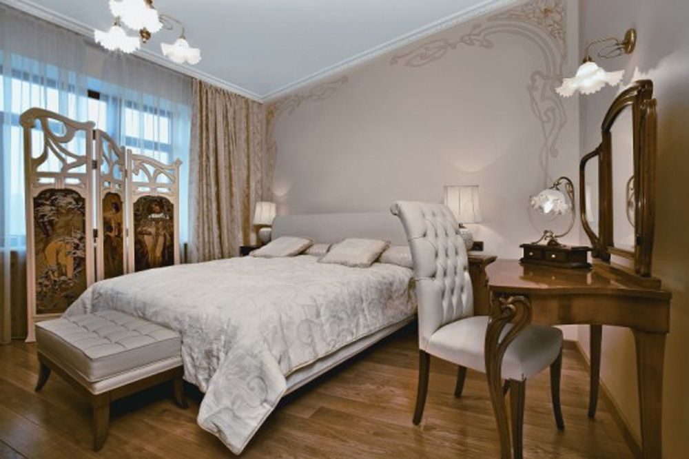 Art Deco Bedroom Design art nouveau inspired interior design | bedroom natural interior