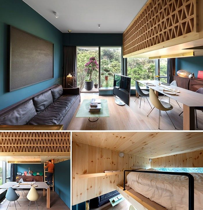 25+ Cozy Small Studio Apartment Interior Ideas - The Urban ...