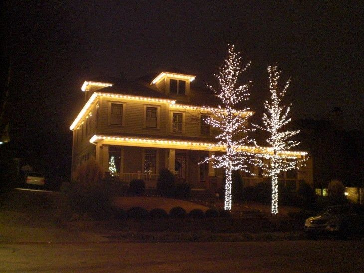 christmas-simple-outdoor-christmas-light-ideas-for-rustic-home ...