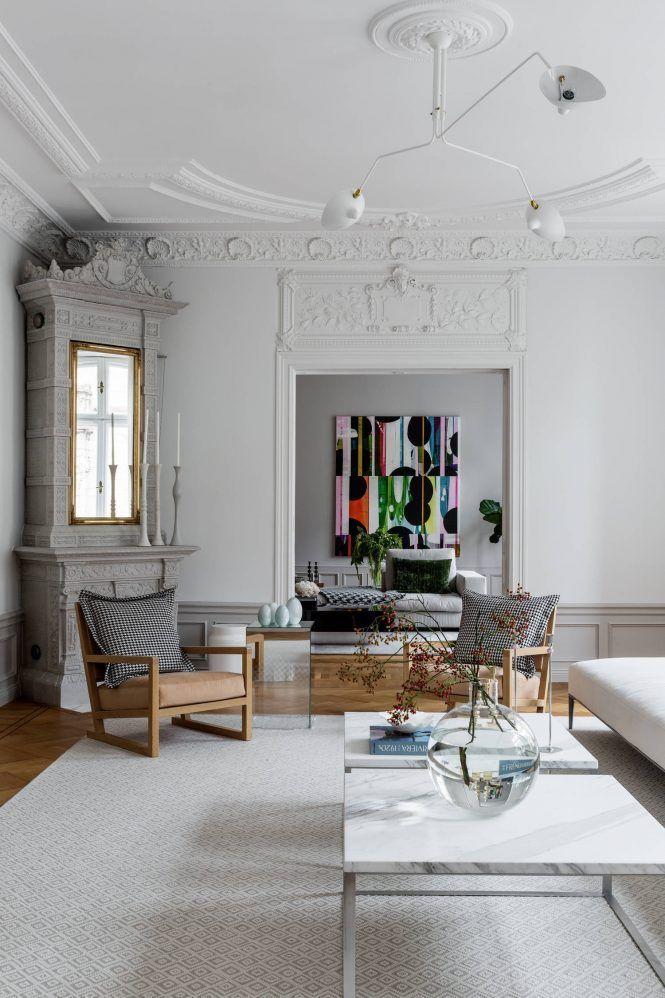 Grandes muebles para grandes espacios | Sofá grande, Salón nórdico y ...