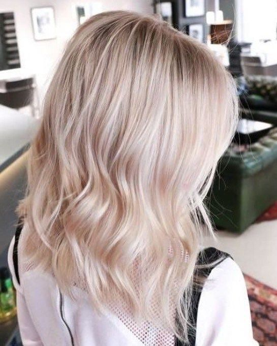 42 Trendy Rose Gold Blonde Hair Color Ideas Rose Gold Hair Highlights Rose Gold Hair Toner Rose Gold Blonde Hair Blonde Hair Color Blonde Hair Inspiration