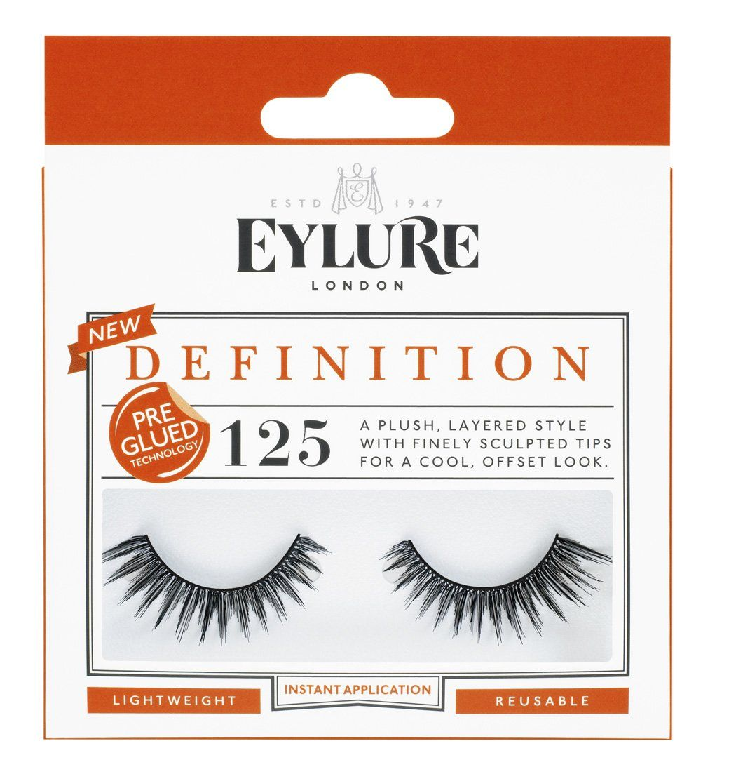 f6bd06896ae Eylure London Definition False Eyelashes - 125. Eylure Pre Glued Strip  Lashes Definition Number 125